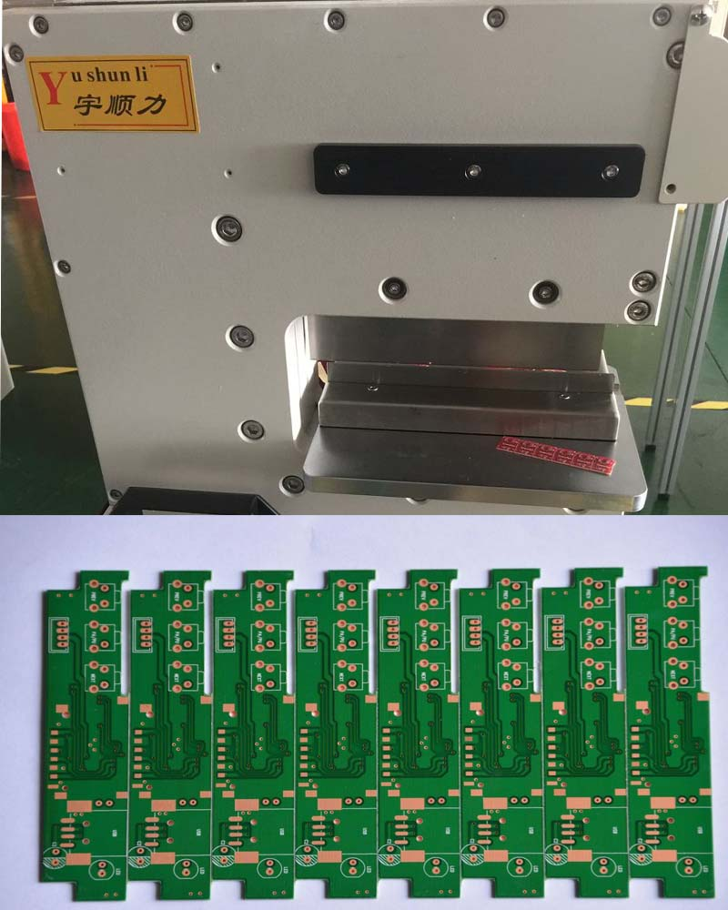 Buy V Cut Pcb Depaneling Equipment, Pcb Separator Machine With Circular / Linear Blade