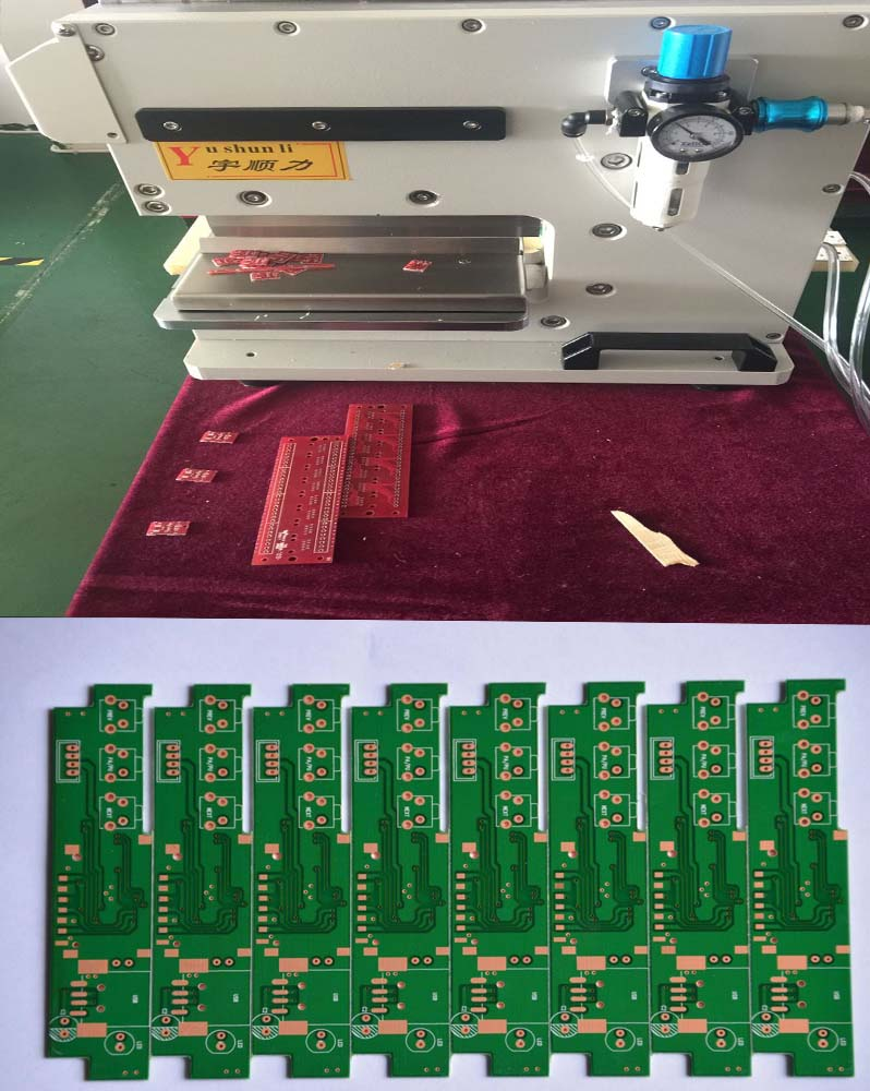 High Speed Steel V-Cut PCB Separator Depanelizer For PCB Separator pneumatic type factory