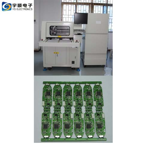 High Driving Speed 1000mm/ sec Twin Table PCB Depaneling