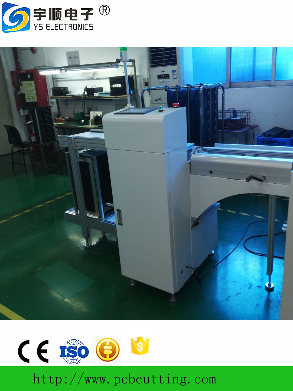 PCB unloader machine for LED production use_ SMT automation equipment PCB unloader for sale