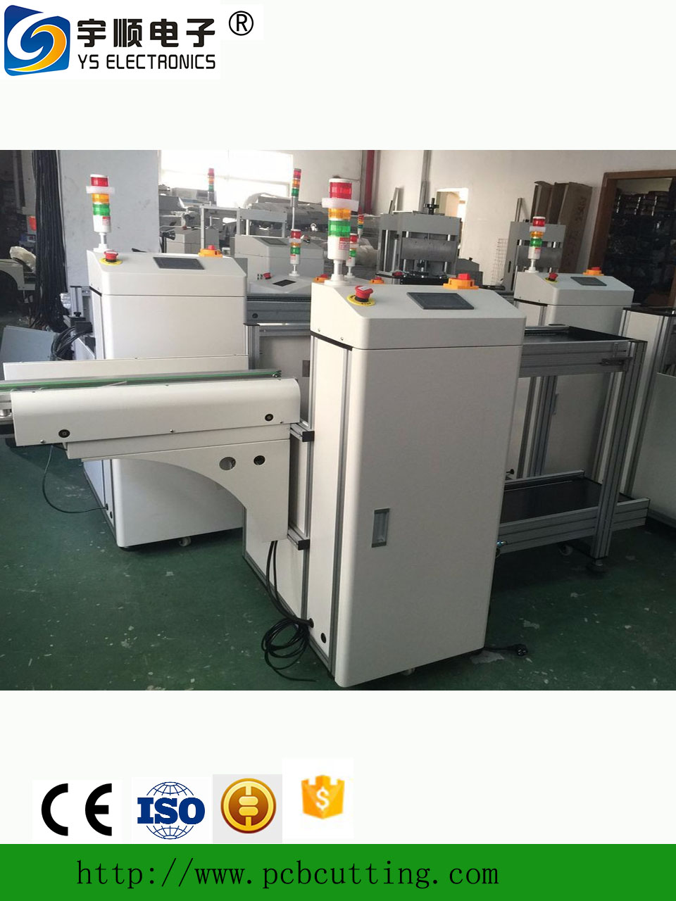 SMT unloader PCB handling equipment/Automatic SMT unloader equipment for PCBa