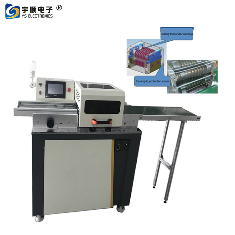 Factory outlets T8 T5 lamp slats Depaneling machine,aluminum plate LED light bar Depaneling machine is not deformed