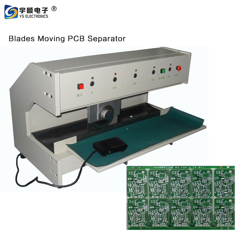 Purchasing PCB Separate PCB Depaneling Machine For LED Lighting V Cut PCB Separator
