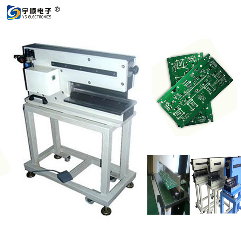 Structural Precision PCB Cutter Machine Motorized Linear Blade Depanelizer